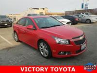 CARFAX One-Owner. Clean CARFAX. Red 2014 Chevrolet