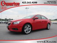 This 2014 Chevrolet Cruze LTZ will sell fast Backup