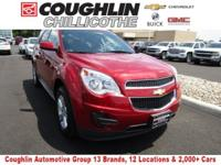 New Price! This 2014 Chevrolet Equinox LT in Crystal