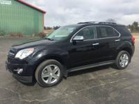 2014 CHEVROLET EQUINOX LTZ ALL WHEEL DRIVE. SHARP SUV