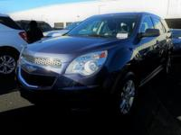 2014 Chevrolet Equinox LS Non-Rental Unit, One Owner,