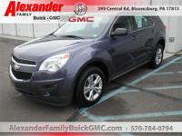 Blue 2014 Chevrolet Equinox LS AWD 6-Speed Automatic