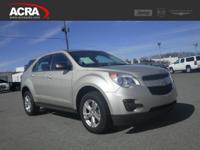 Chevrolet Equinox, options include:  Steering Wheel
