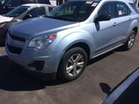 Certified. This 2014 Chevrolet Equinox in Silver Topaz