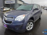 Options:  2014 Chevrolet Equinox Ls|Blue|6 Speaker