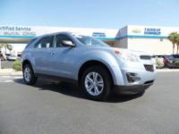 Look at this 2014 Chevrolet Equinox LS. Its Automatic