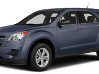Blue 2014 Chevrolet Equinox LS FWD 6-Speed Automatic