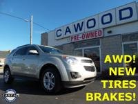 Options:  2014 Chevrolet Equinox Lt|Gold|New Tires!|New