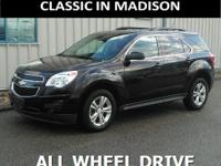 This one owner, all wheel drive 2014 Chevrolet Equinox
