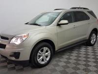 Certified. This 2014 Chevrolet Equinox in Champagne