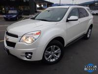 Options:  2014 Chevrolet Equinox Lt|White|Recent