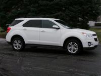 Options:  2014 Chevrolet Equinox Lt|Summit White/|V4
