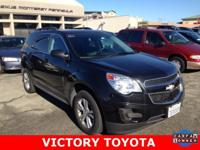 2014 Chevrolet Equinox LT in Black starred featured