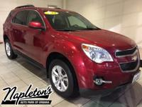 Recent Arrival! 2014 Chevrolet Equinox in Red, AUX