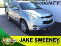 Our One Owner 2014 Chevrolet Equinox LTZ AWD presented