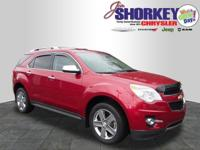 Recent Arrival! 2014 Chevrolet Equinox LTZ Clean