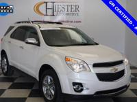 Options:  2014 Chevrolet Equinox Ltz|White|Priced Below