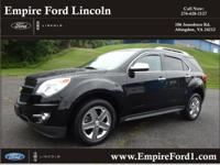 Options:  2014 Chevrolet Equinox Ltz|Awd Ltz 4Dr