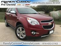 Options:  2014 Chevrolet Equinox Ltz|Crystal Red