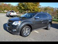 Options:  2014 Chevrolet Equinox Ltz|Ltz 4Dr Suv|3.6L|6