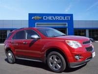 Options:  2014 Chevrolet Equinox Ltz|Miles: 31821Color: