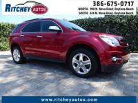 CERTIFIED PRE-OWNED 2014 CHEVY EQUINOX LTZ**LOW