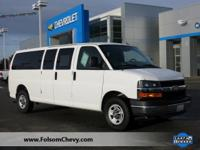 Exterior Color: white, Body: Passenger Van, Engine: