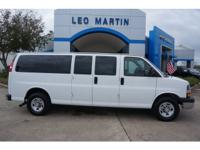 Exterior Color: white, Body: Extended Van, Engine: 6.0