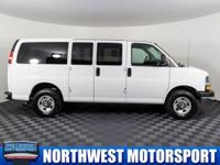 Clean Carfax Two Owner Passenger Van with 4th Row
