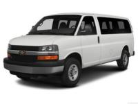 Summit White 2014 Chevrolet Express 2500 LT Passenger