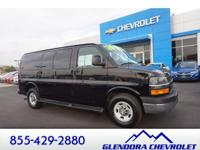 This Express van is equipped with running boards,
