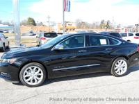 Brand new 2014 Chevrolet Impala LTZ 2LZ Sedan in Black