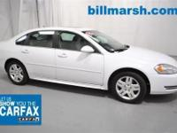 Impala LT, ONE OWNER CLEAN CARFAX, OnStar, and