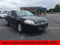 2014 Chevrolet Impala Limited LS in Black vehicle