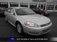 Options:  2014 Chevrolet Impala Limited Lt|Silver Ice