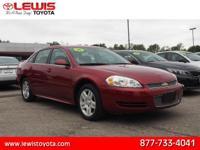 Options:  2014 Chevrolet Impala Limited Lt Fleet|Lt