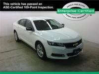 Chevrolet Impala Room for the entire family! Are and
