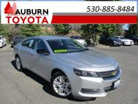 LOW MILEAGE, BLUETOOTH! This 2014 Chevrolet Impala LS