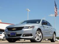 2014 Chevrolet Impala 1LS Silver Topaz Metallic 6-Speed
