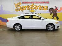 Summit White 2014 Chevrolet Impala LT 1LT FWD 6-Speed