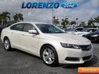 Options:  2014 Chevrolet Impala Lt|White Diamond