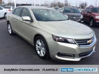 Chevrolet Impala  Clean CARFAX. CARFAX One-Owner.