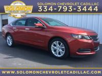 2014 Chevrolet Impala LT in Red vehicle highlights