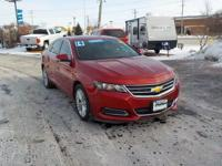 Red 2014 Chevrolet Impala LT 2LT FWD 6-Speed Automatic