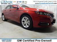 Options:  2014 Chevrolet Impala