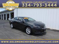 2014 Chevrolet Impala LT in Grey vehicle highlights