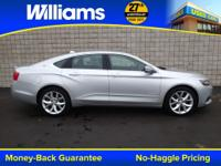 Options:  2014 Chevrolet Impala Lt|Silver|Touch Screen