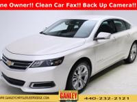 Chevrolet Impala LT 2014 New Price! CARFAX One-Owner.