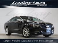 FWD Black 2014 Chevrolet Impala LTZ 1LZ 6-Speed
