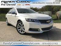 Options:  2014 Chevrolet Impala Ltz|White Diamond